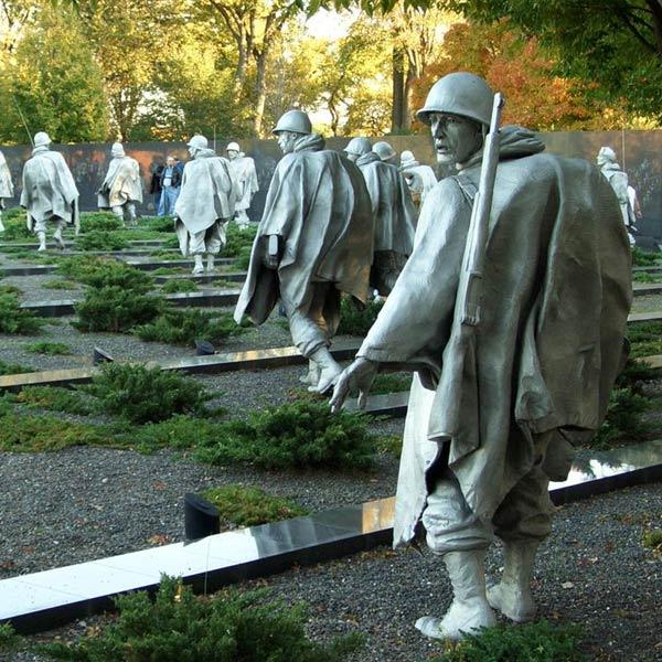 גן-האנדרטאות-מלחמת-קוריאה