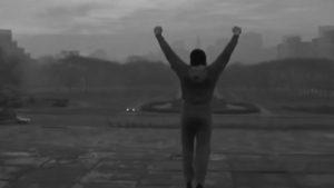 טיול למדרגות הניצחון של רוקי בלבואה סילבסטר סטלונה