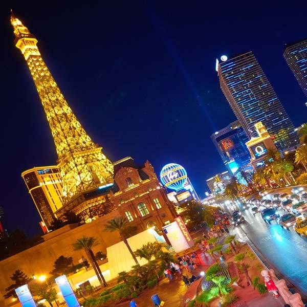 קזינו לאס וגאס | טיול מאורגן לעיר ההימורים