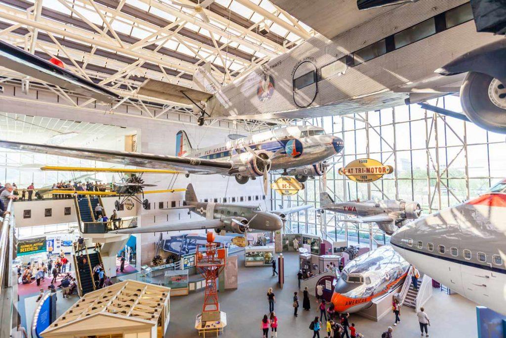 ביקור במוזיאון התעופה בוושינגטון | טיול יום מניו יורק