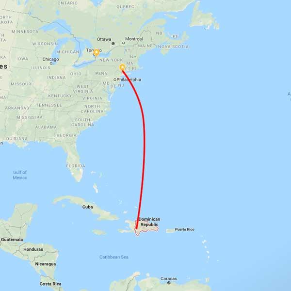 טיול מאורגן לרפובליקה הדומיניקנית