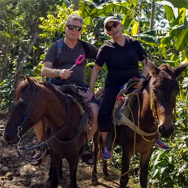 מסלול רכיבה על סוסים בטבע
